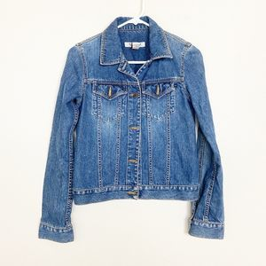 Abercrombie & Fitch Vintage Denim Jacket XS #4051